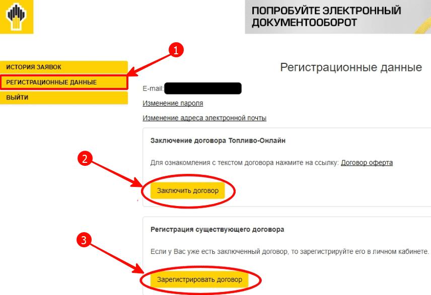 Как управлять регистрационными данными RN Card